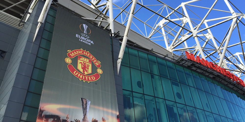 European cup night in Manchester